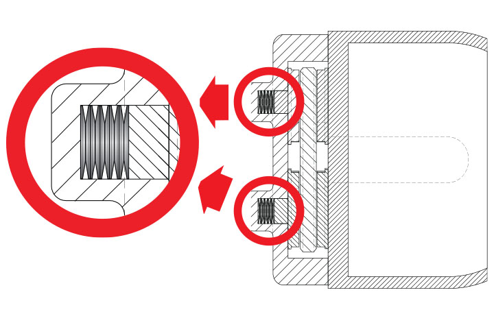 app disc spring mechanical brake system stacking