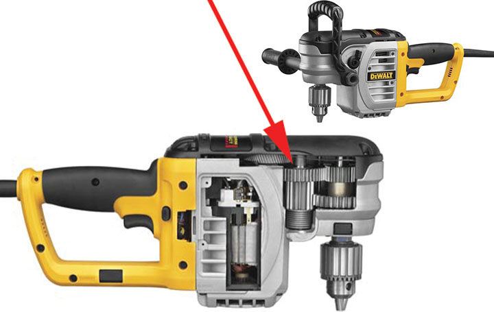 app disc spring right angle drill