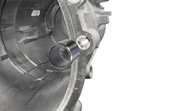 app gd100 auto transmission case close up