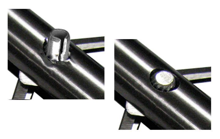 app solid pin arrowhead samples
