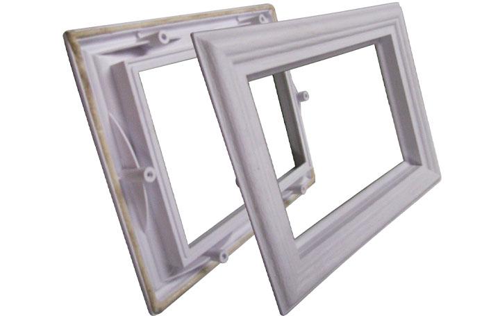 app solid pin garage door window frames